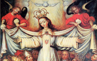 María vista por Dios