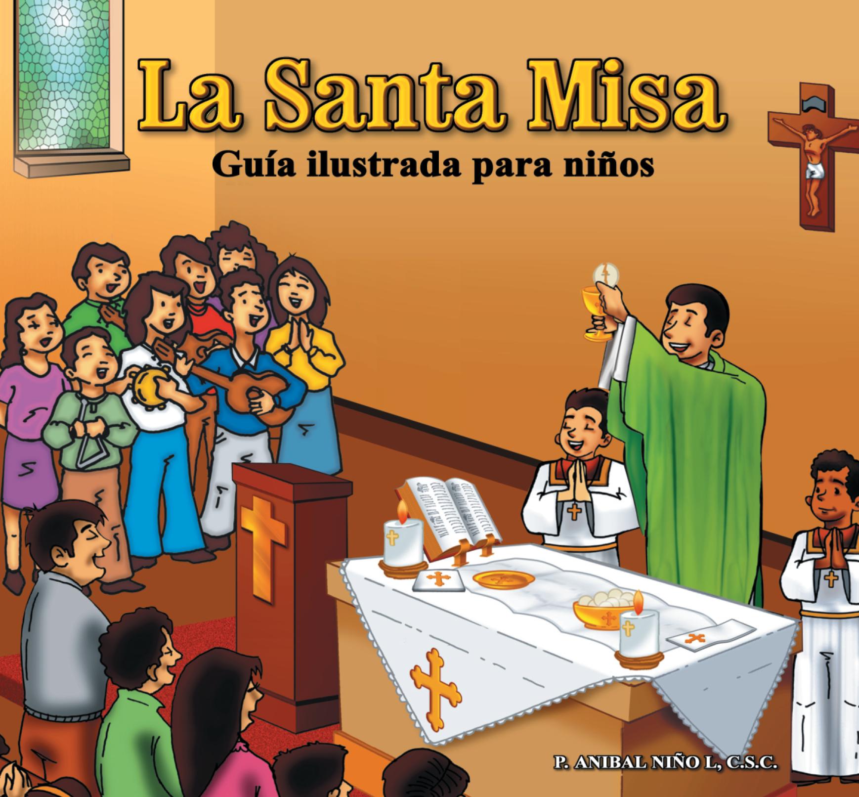 Santa Misa Ilustrada para Niños Image