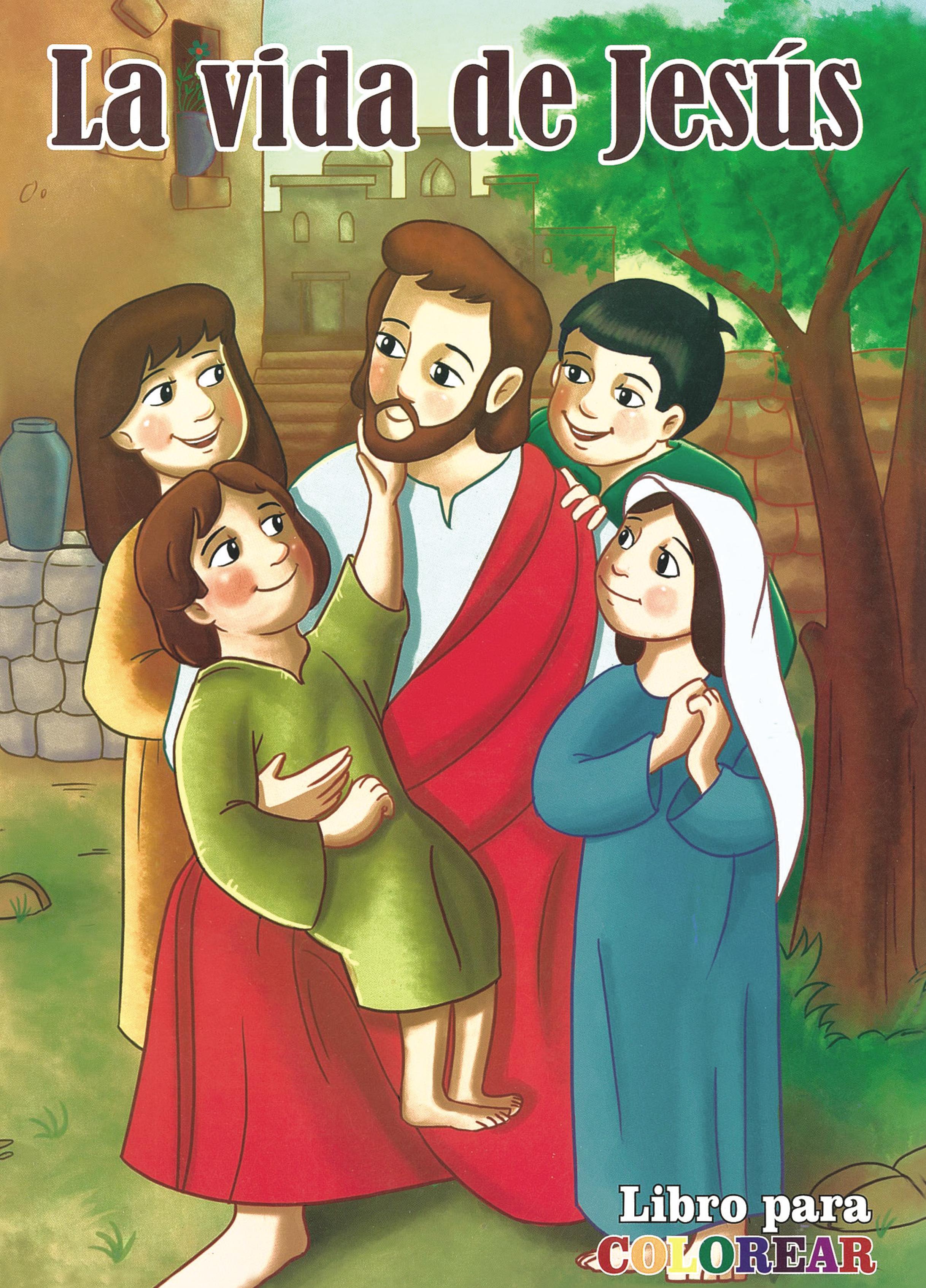 Libro para Colorear la Vida de Jesús Image