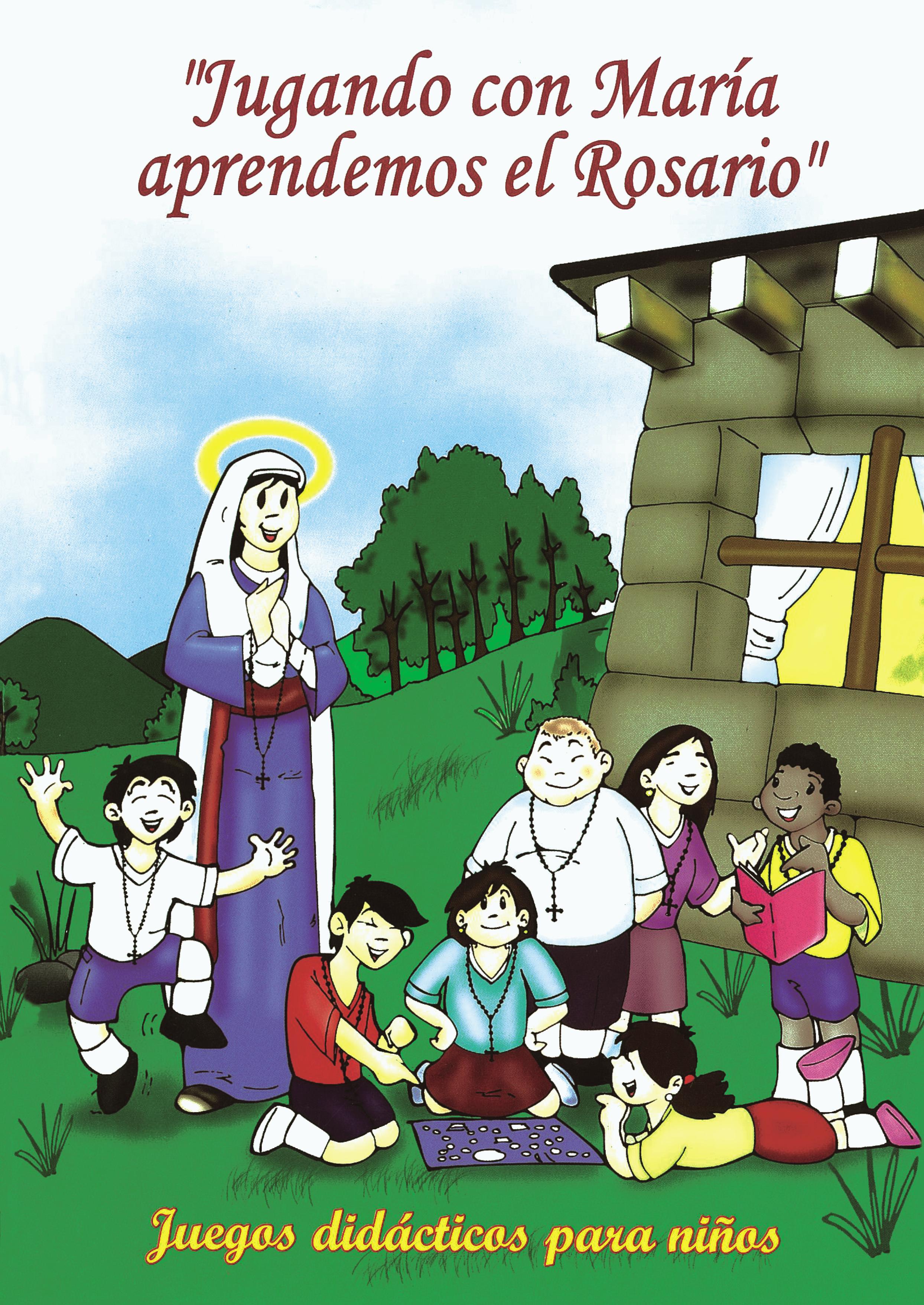 Jugando con María aprendemos el Rosario Image