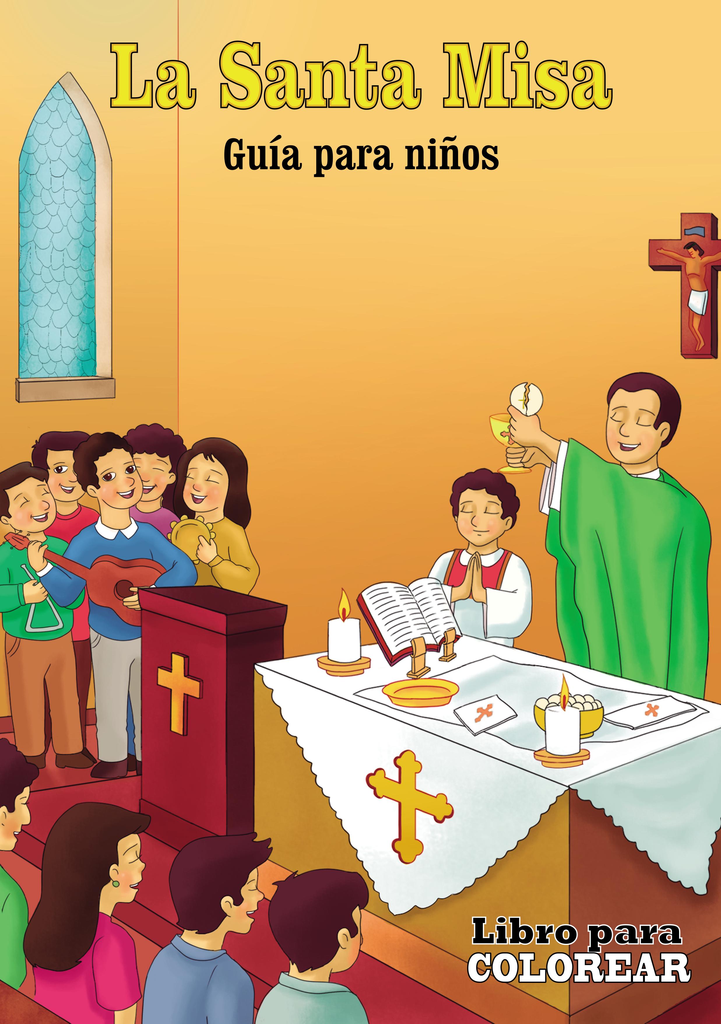 Santa Misa para colorear Image